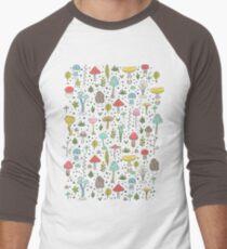 Mushrooms Baseball ¾ Sleeve T-Shirt