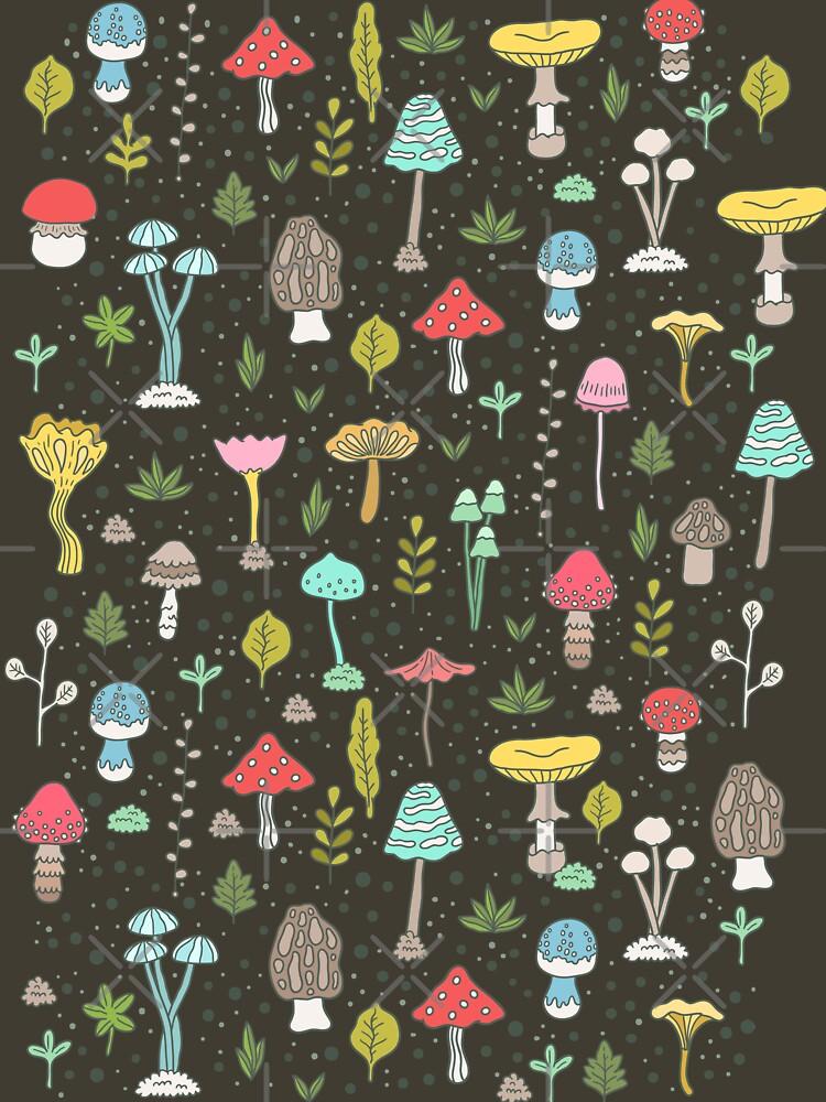 Mushrooms by kostolom3000