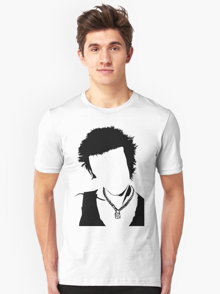 Sid - vacant expression Unisex T-Shirt Front