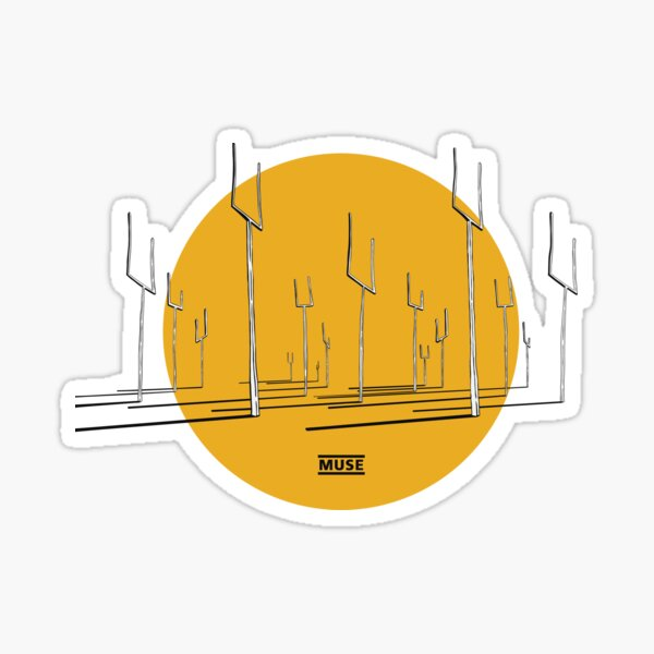 Muse Origin of Symmetry colour Sticker