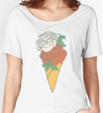 Rose ice cream Women's Relaxed Fit T-Shirt
