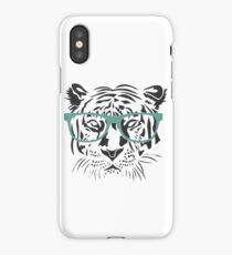 Geeky Tiger iPhone Case