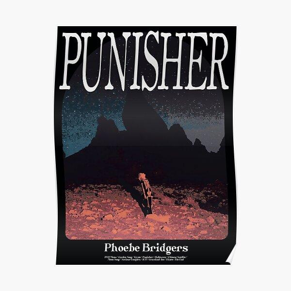 Phoebe Bridgers Punisher Alternative Album Poster Poster