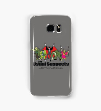 Usual Suspects Samsung Galaxy Case/Skin