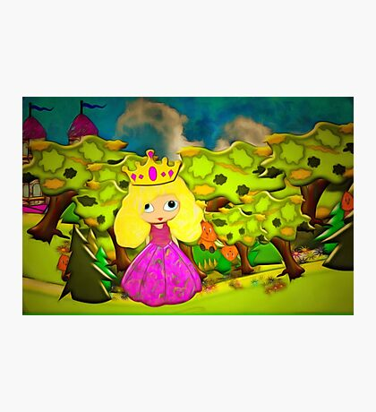 A Party for a Princess Photographic Print