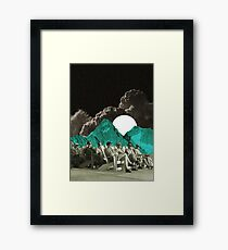 Planet tv Framed Print