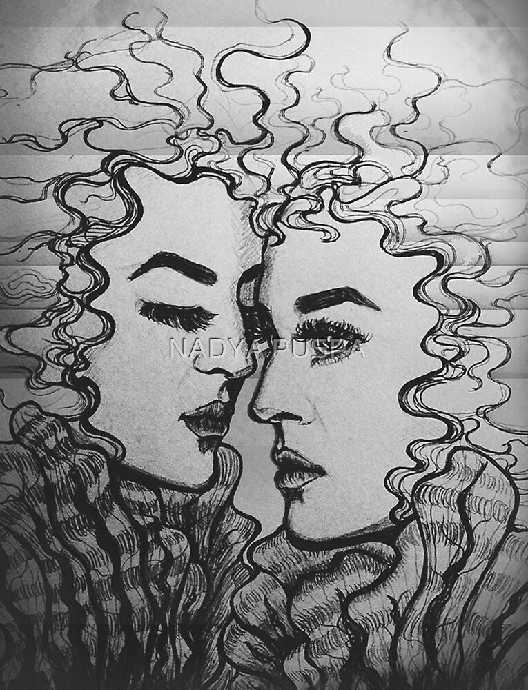 The Twins by NADYA PUSPA