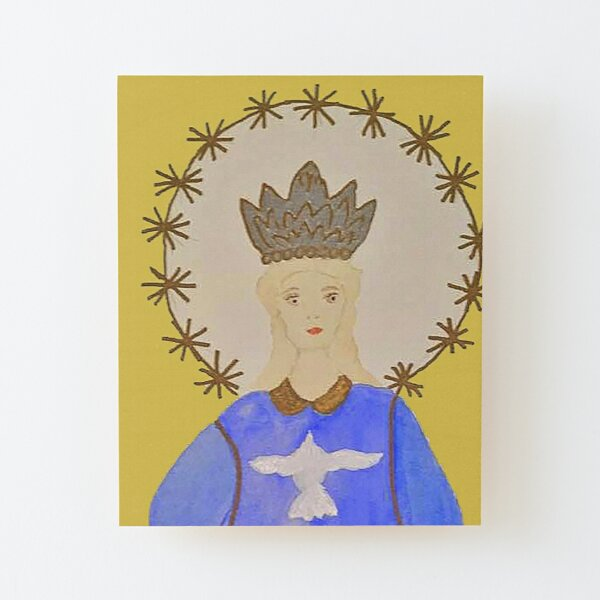 Our Lady of Assumption Wood Mounted Print