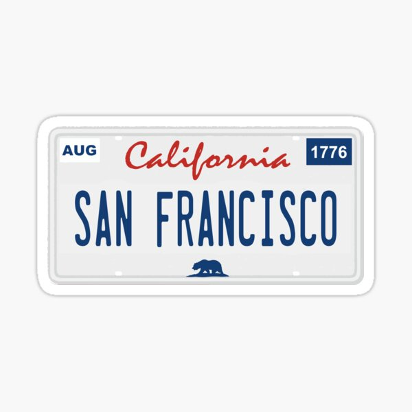 San Francisco. Sticker