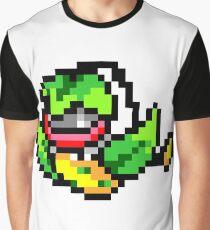 Pokemon 8-Bit Pixel Victreebel 071 Graphic T-Shirt