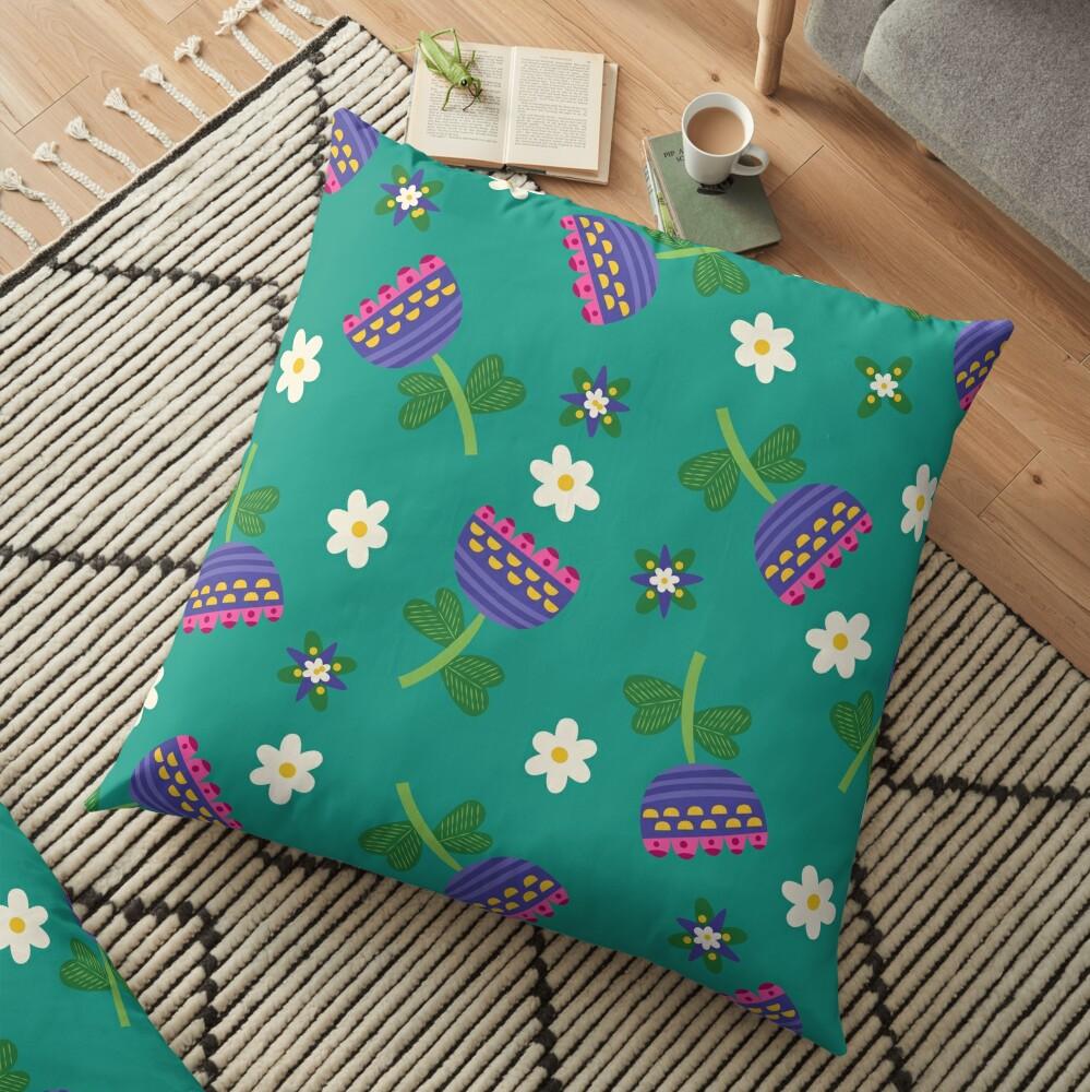 Summer Daydreams Floor Pillow