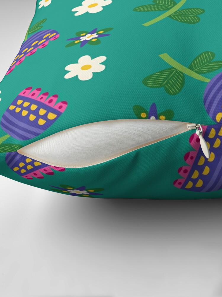 Alternate view of Summer Daydreams Floor Pillow