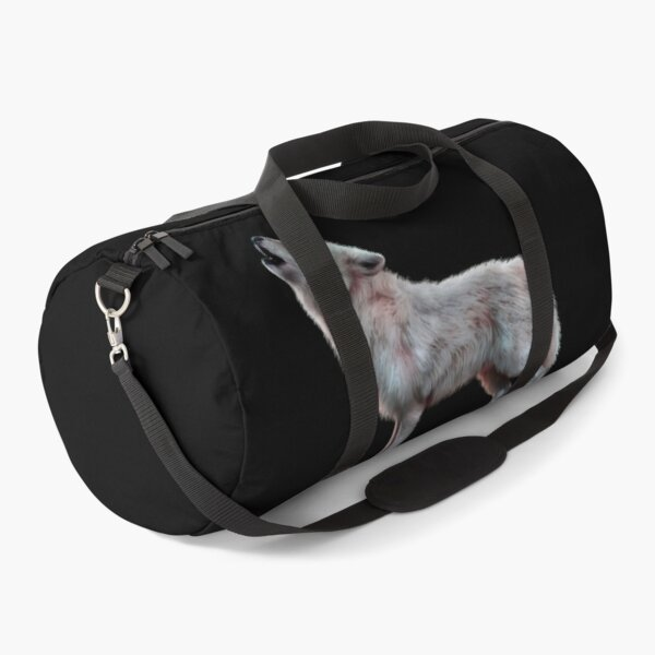Wolf clothing - great design for wolf lovers Duffle Bag
