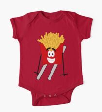 Skiing - French Fry Kids Clothes