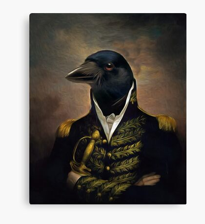 General William Crowing Cawison Canvas Print