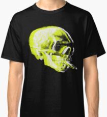 Van Gogh Skull with burning cigarette remixed x Classic T-Shirt