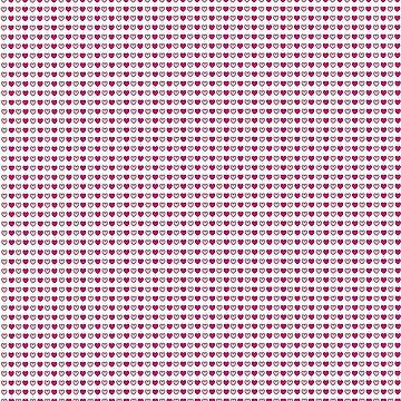 Pink Hearts <3 <3 <3 by tashdique