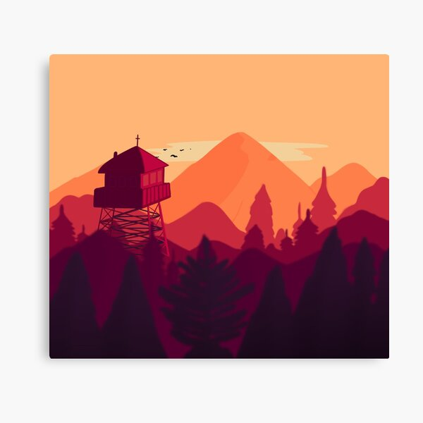 Outpost Canvas Print