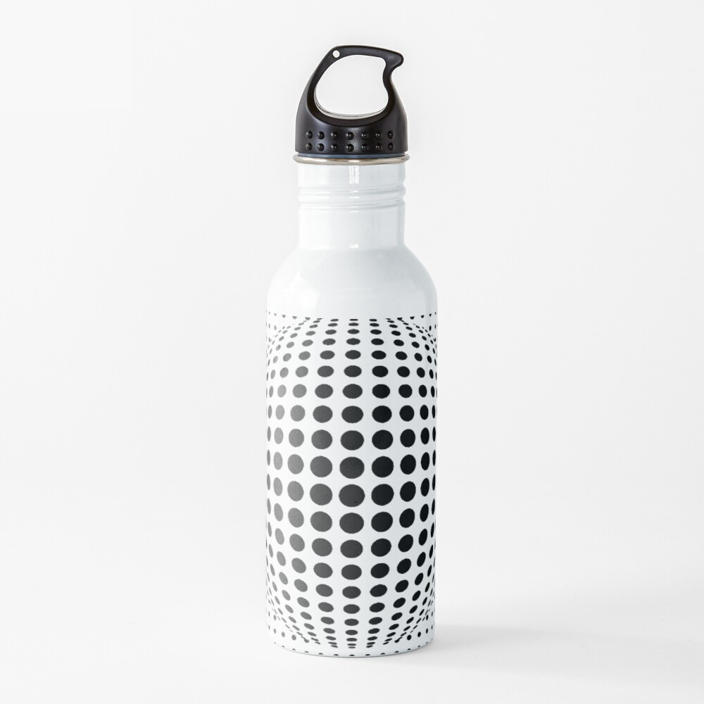 Psychedelic Art, Psychedelia, Psychedelic Pattern, 3d illusion Water Bottle