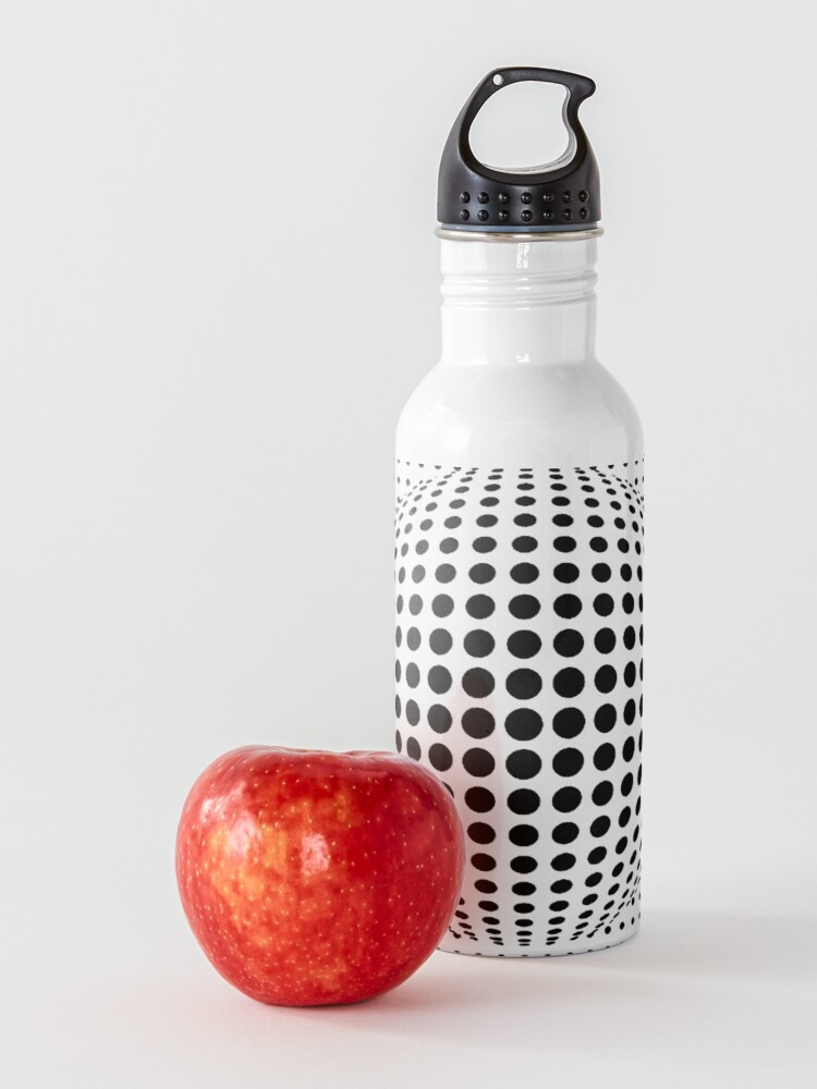 Alternate view of Psychedelic Art, Psychedelia, Psychedelic Pattern, 3d illusion Water Bottle