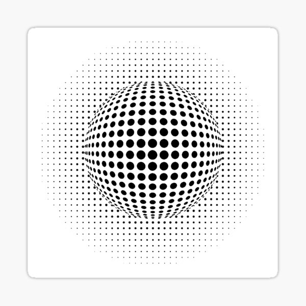 Psychedelic Art, Psychedelia, Psychedelic Pattern, 3d illusion Sticker
