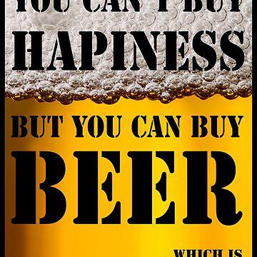 BEER IS HAPINESS (beer version) by jaiidi2