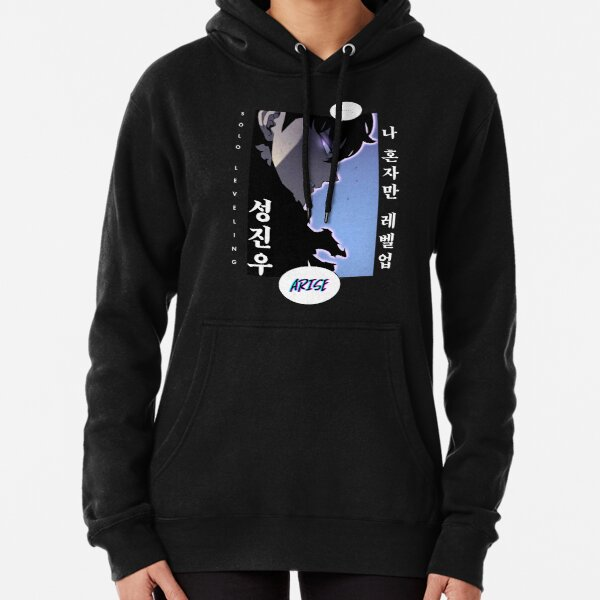 Solo Leveling Korean Pullover Hoodie