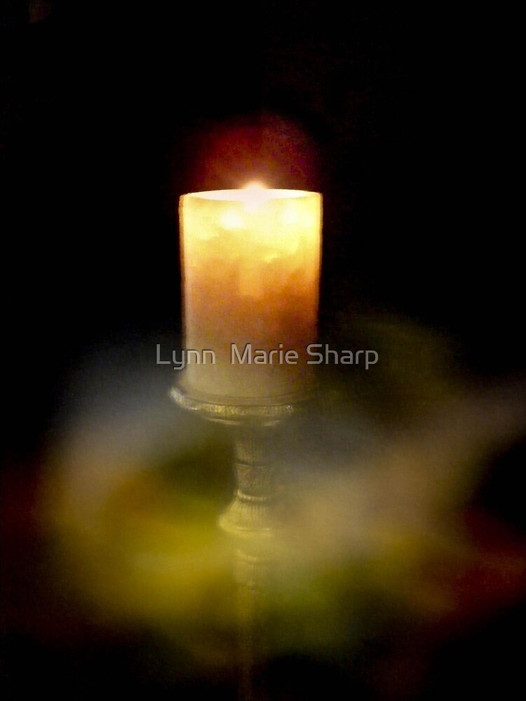 Candles And Meditation by Marie Sharp