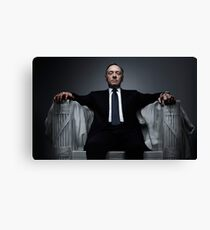 Frank Underwood Canvas Print