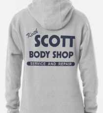 Keith Scott Body Shop Pullover Hoodie