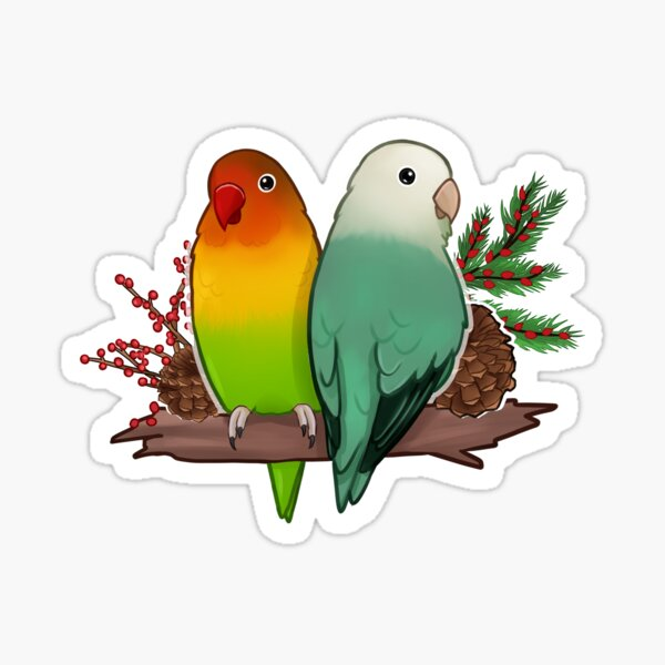 A  Very Fashionable Lovebirds Couple  Primitive Picture