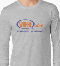 The Office: WUPHF.com Long Sleeve T-Shirt