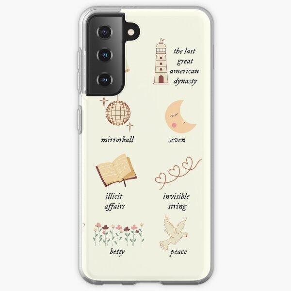 folklore evermore Samsung Galaxy Soft Case