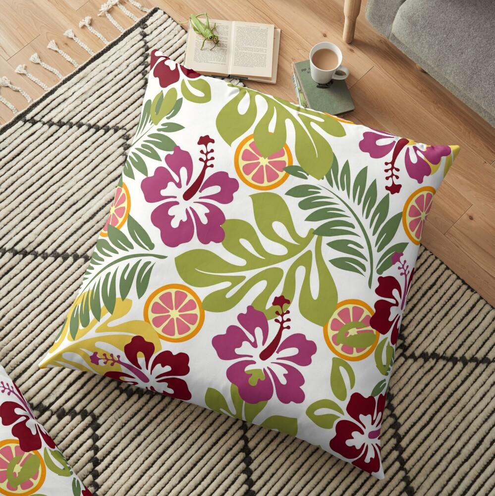 Tropical Zing Floor Pillow