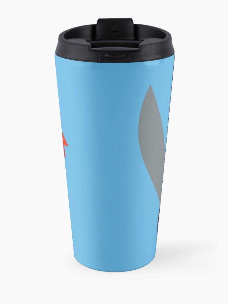 Alternate view of The Captain Shiba Travel Mug