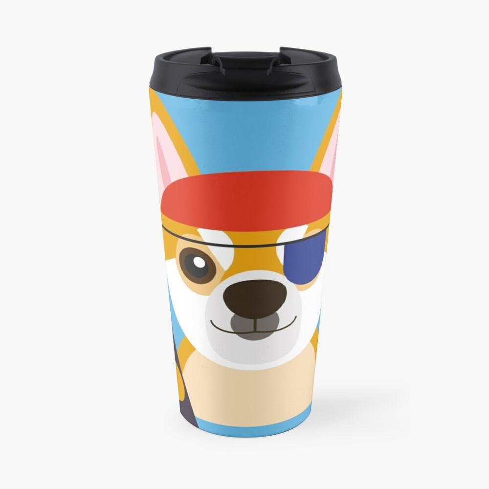 The Captain Shiba Travel Mug