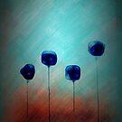 Blushing Flowers by auroraarts1