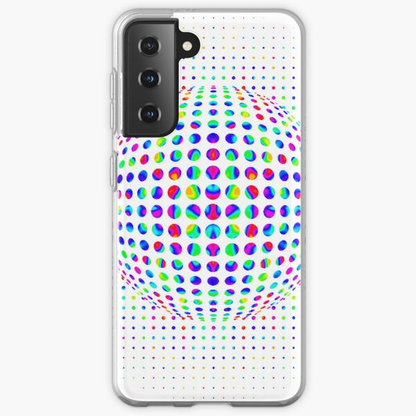 Psychedelic Art, Psychedelia, Psychedelic Pattern, 3d illusion Samsung Galaxy Soft Case
