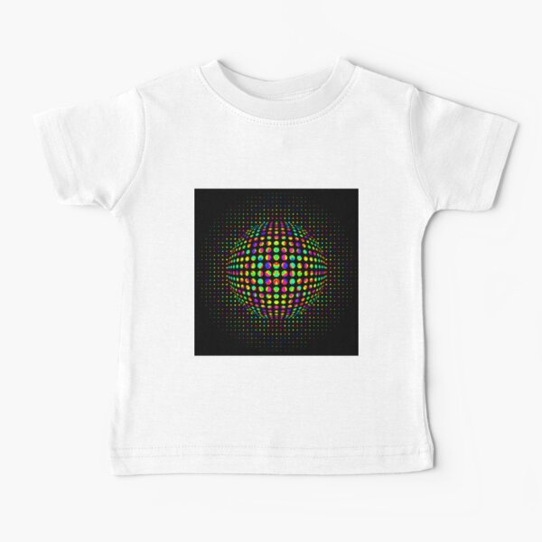 Psychedelic Art, Psychedelia, Psychedelic Pattern, 3d illusion Baby T-Shirt