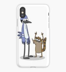Rigby and Mordecai iPhone Case