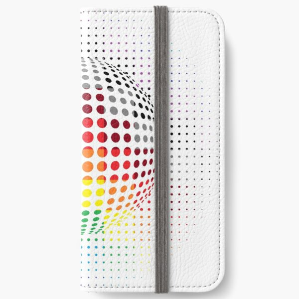 Psychedelic Art, Psychedelia, Psychedelic Pattern, 3d illusion iPhone Wallet