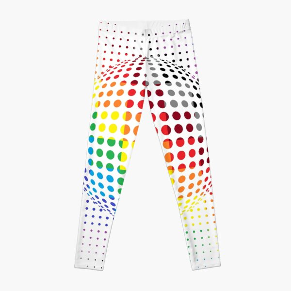 Psychedelic Art, Psychedelia, Psychedelic Pattern, 3d illusion Leggings