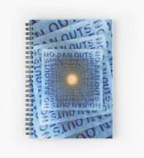 No Bailouts Spiral Notebook