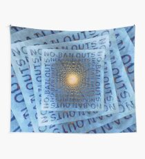 No Bailouts Wall Tapestry