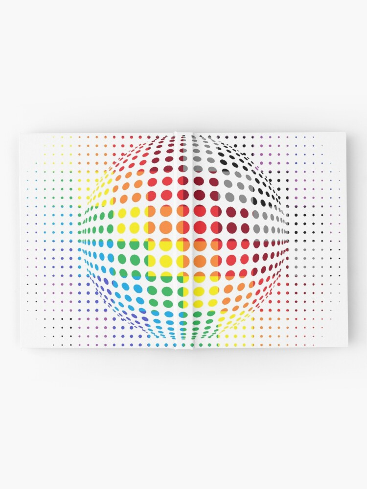Alternate view of Psychedelic Art, Psychedelia, Psychedelic Pattern, 3d illusion Hardcover Journal