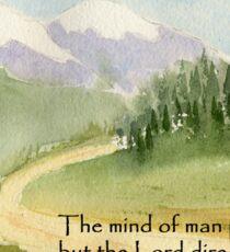 Guidance, Proverbs 16:9 Sticker