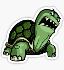 Angry Turtle Sticker