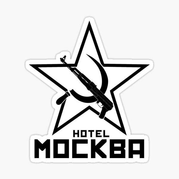 Black Lagoon Hotel Moscow Sticker