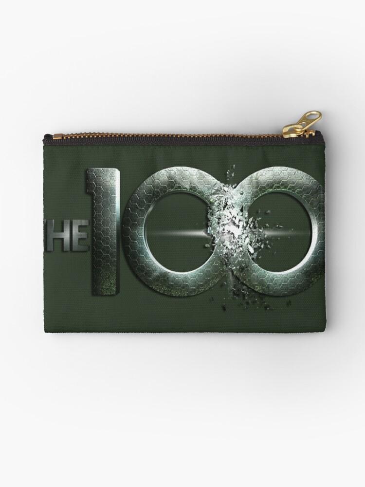 The 100 logo by KikkaT