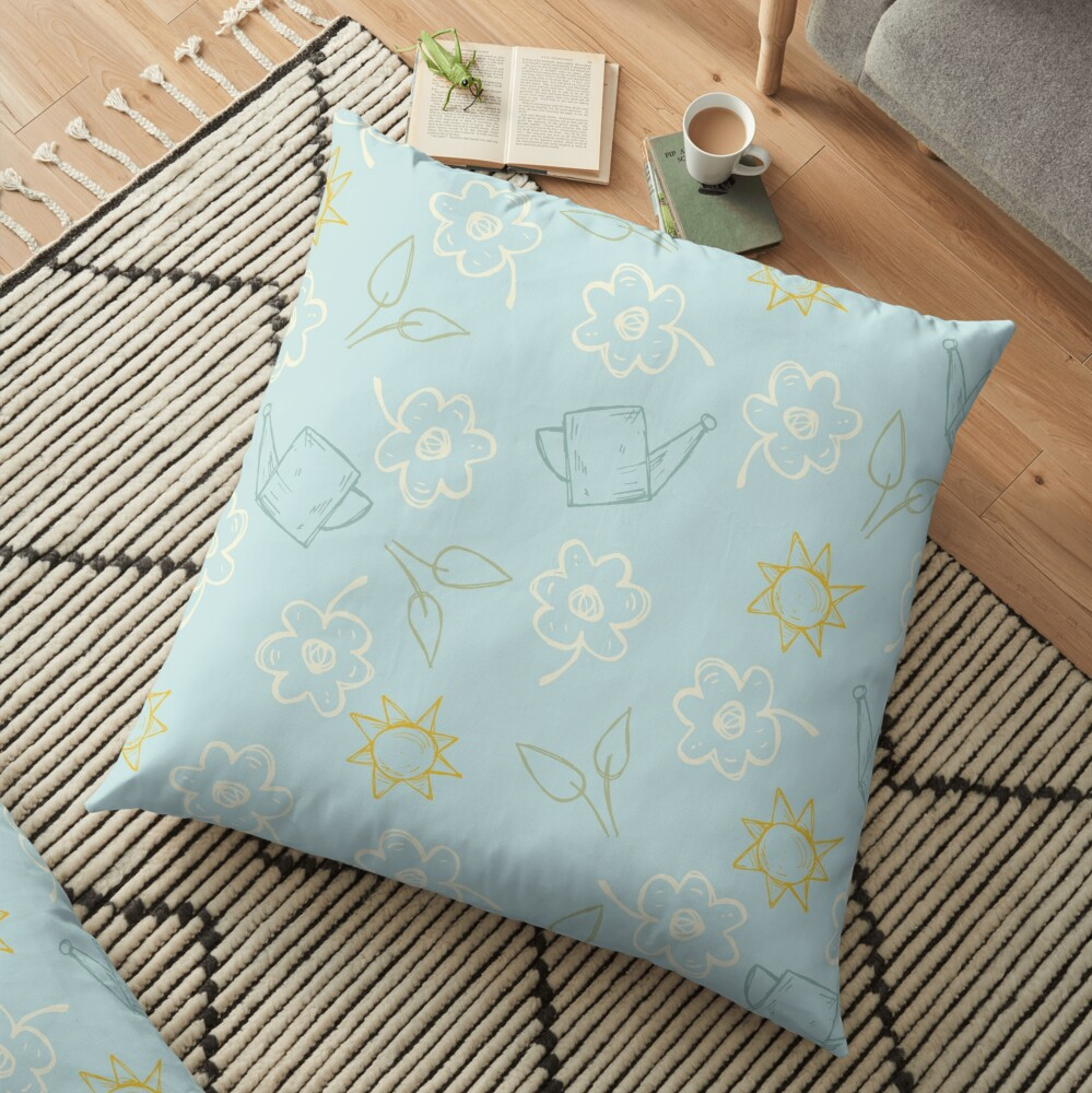 Down to Earth Floor Pillow
